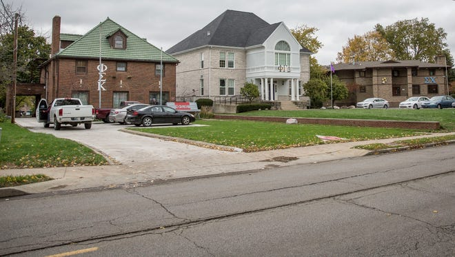 Phi Sigma Kappa, Phi Gamma Delta and the Sigma Chi houses are just three of 13 fraternities that will no longer allow alcohol for gatherings at fraternity homes or co-hosted events until after Jan. 31, 2018. The ban was put in place in an agreement between Ball State and the Interfraternity Council.