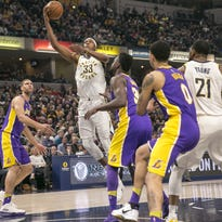 Intact starting lineup helps Pacers snap short skid