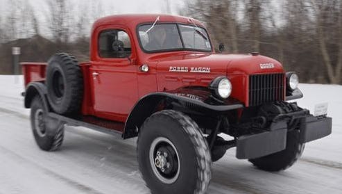 This Dodge Power Wagon is being restored