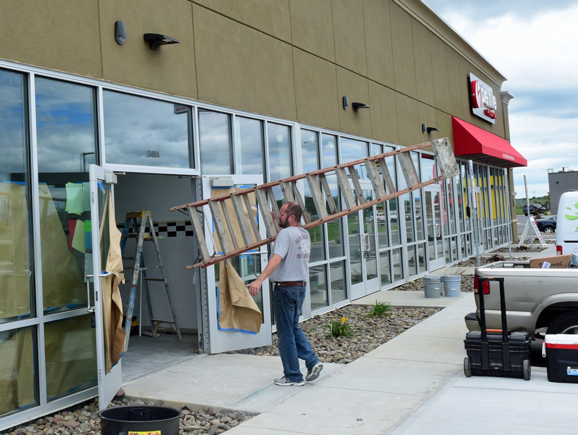Jimmy John's Gourmet Sandwiches is under construction