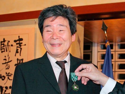 AP JAPAN OBIT TAKAHATA I ENT OBIT JPN