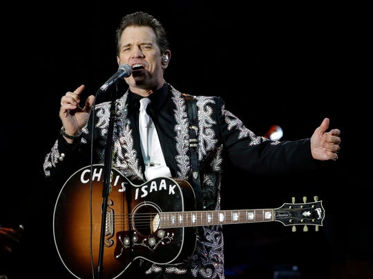 Chris Isaak will perform Dec. 8 at the Brown County Music Center.