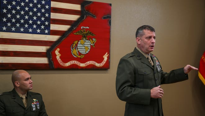 U.S. Marine Brig. Gen. Kurt W. Stein, director of Marine and Family Programs, Manpower and Reserve Affairs.