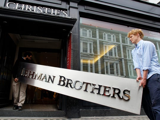 Investment bank Lehman Brothers filed for bankruptcy on Sept. 15, 2008, setting off turmoil in financial markets worldwide.
