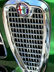 Delmas Greene restored this 1960 Alfa Romeo coupe after finding it in a farm field near Clearwater, Florida.