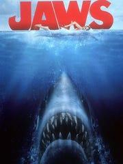 """Jaws"" DVD cover.  (Gannett News Service/Universal"