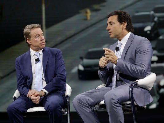 Mark Fields, Bill Ford
