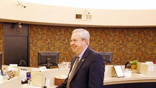 Texas Bank President and CEO Gary Cox was recognized for 25 years of service in December.