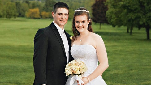 Bradley Patnaude and Jennifer Kernoff