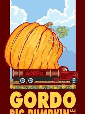 Gordo Big Pumpkin Ale is now available at The RAM.
