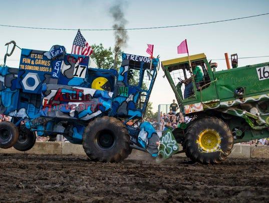 combine demolition derby