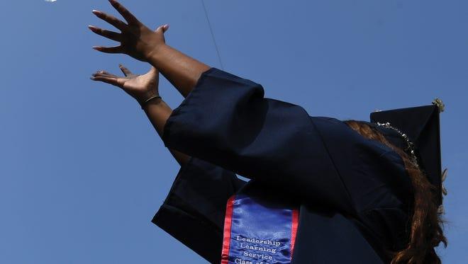 75th Commencement ceremony of Fairleigh Dickinson University at MetLife Stadium on Tuesday, May 15, 2018. (Michael Karas/@michaelkarasphoto)