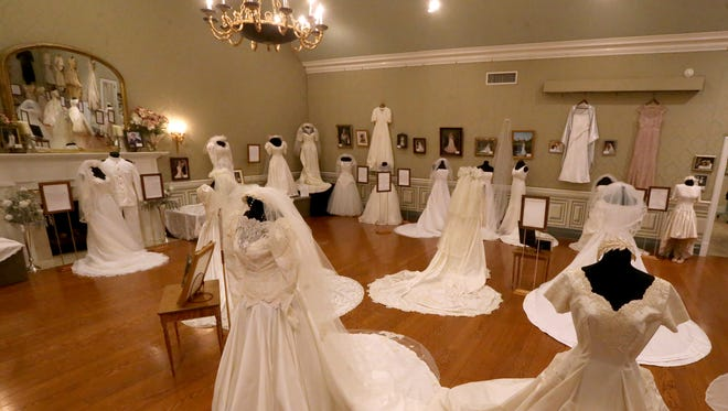 "JAN. 21-MARCH 3: Oaklands Mansion, 900 N. Maney Ave. in Murfreesboro, presents the annual ""Wedding Dresses Through the Decades"" on exhibit Jan. 21 through March 5. Vintage gowns from the past 100 years will be on display, including Barbara Mandrell's 1967 gown which was handmade by her mother, and the white naval uniform worn by her husband, Ken Dudney. Admission: $10 and museum tours are available at regular rates during regular museum hours and combination tickets for the exhibition and house tours are available at a reduced rate. For more information, contact Mary Beth Nevills at Oaklands 615-893-0022 or email mb@oaklandsmuseum.org."