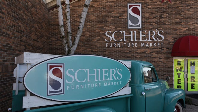Schier's Furniture Market, Waynesboro, is closed on Wednesday, January 25, 2017 as the store prepares for a huge retirement sale. The owner, Harry Morningstar, is retiring from the business he's owned since 1978.