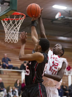 Lawrence North's Ra Kpedi (right) is one of the more intriguing 2017 in-state prospects.