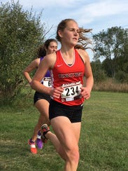 Courtney Jarema was 10th for Pinckney in the Southeastern