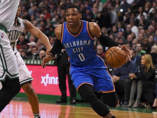 NBA: Oklahoma City Thunder at Boston Celtics