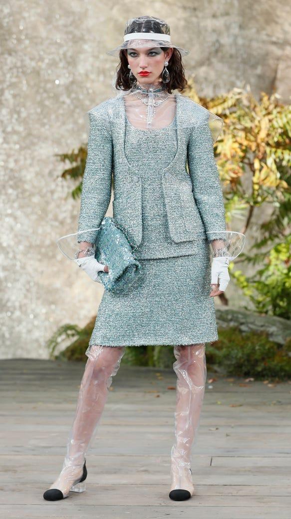 Rainwear by Chanel.