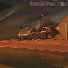 SEPT. 19, 2014: One person was killed in a crash near the DFW Airport.