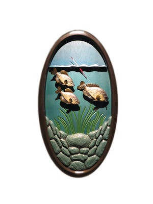 Fish Carver: The Art of Roger Newhouse is on display at the Wisconsin Maritime Museum.