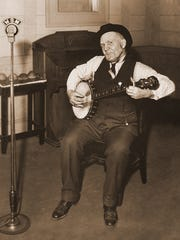 Uncle Dave Macon is considered the first superstar
