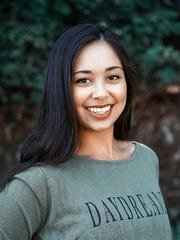 AJ Pelkey who began as a singer and dancer, is working on her acting career. Born on Guam, she starred in Pure Flix film 'Camp Harlow' in 2014.