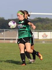 Makenzie Carpenter enjoys soccer and hopes to be able