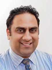 Dr. Nirav Shah, assistant professor of medicine in
