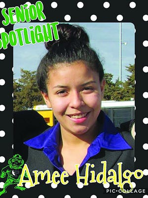Pratt senior Amee Hidalgo has earned top honors for her French language skills.