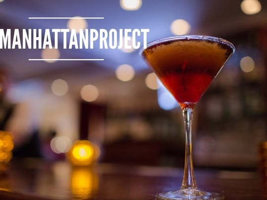 Benjamin Steakhouse created this Manhattan for lohud's