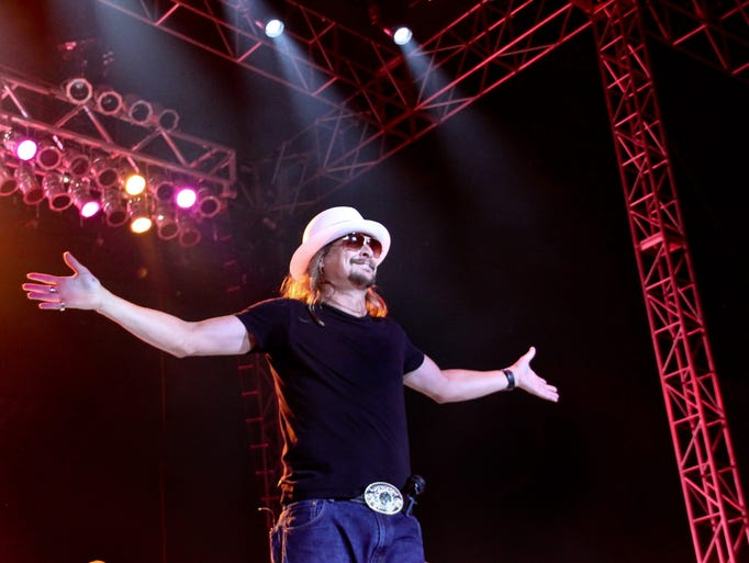 Kid Rock concert at the Salinas Sports Complex