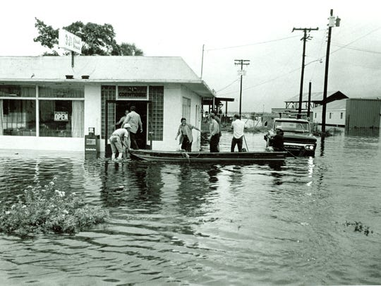 The historic photos of the floods in Southwest Florida.