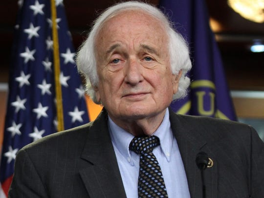 Rep. Sander Levin, D-Mich., on Capitol Hill in Washington,