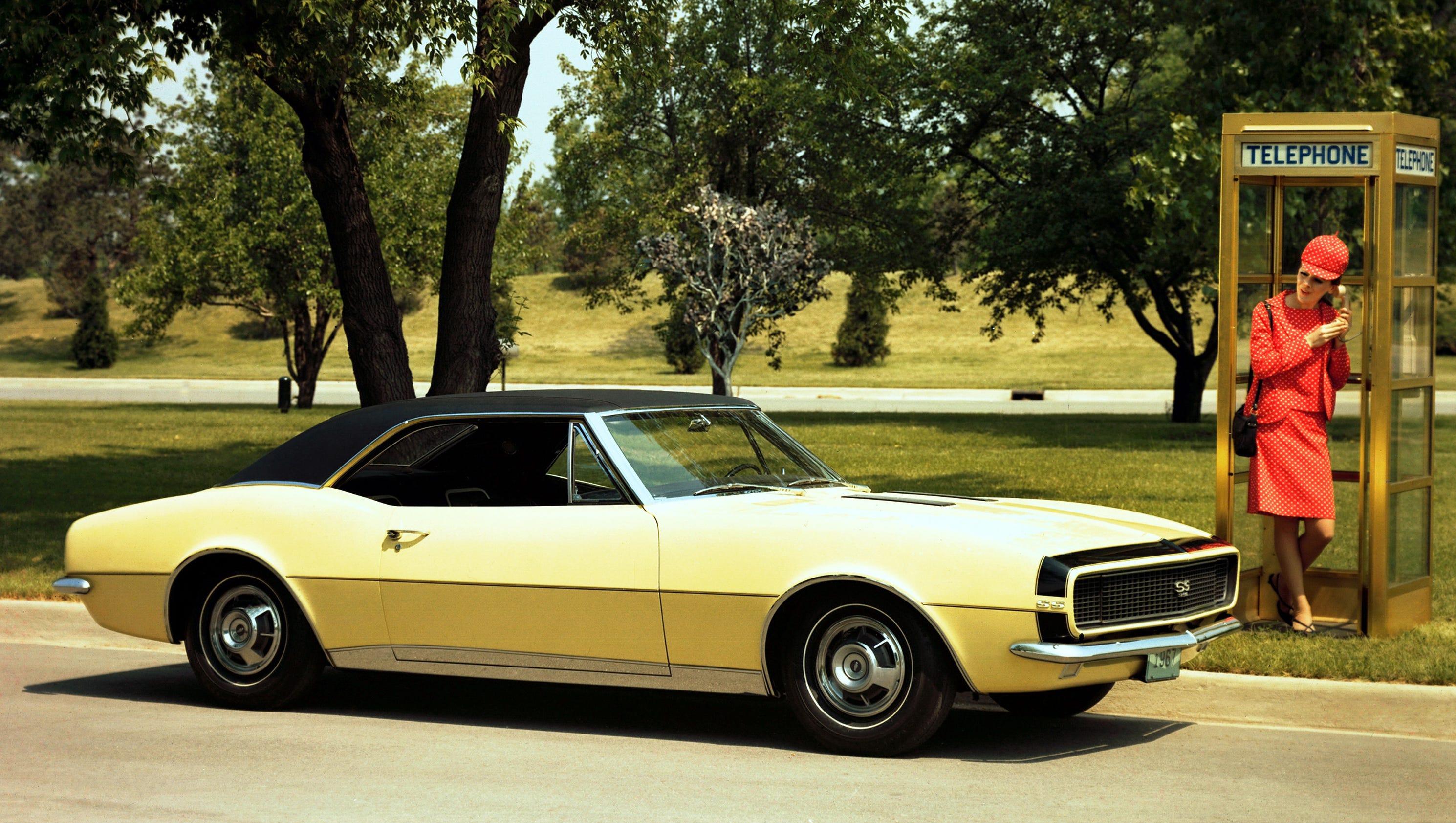 Chevy Camaro Through The Years