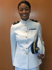 """The new female officer and chief petty officer """"choker"""""""