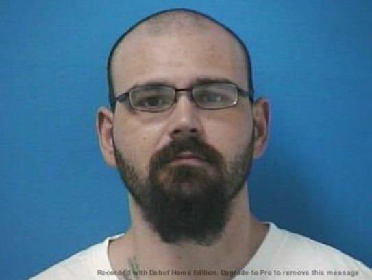 Steven Wiggins mugshot from a 2017 arrest in Williamson