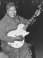 In this Nov. 21, 1957, file photo, Sister Rosetta Tharpe,
