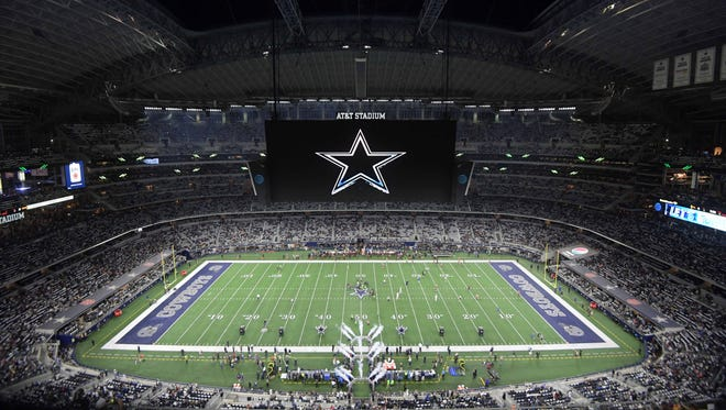 A former Dallas Cowboys cheerleader alleges in a federal court filing she was paid about a quarter of what the team mascot made.