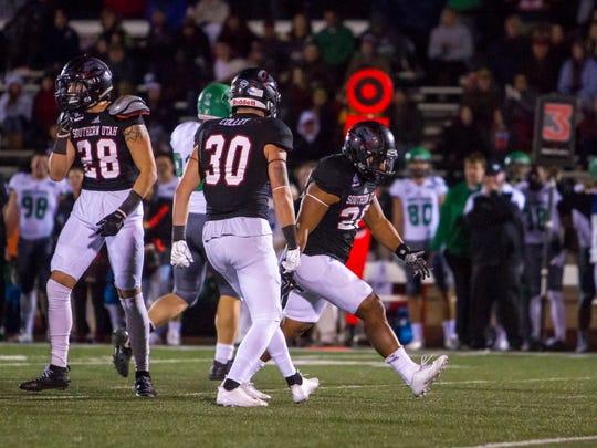 College football: North Dakota at Southern Utah, Saturday, November 4, 2017, in Cedar City, Utah. Final score: SUU 47, UND 21.