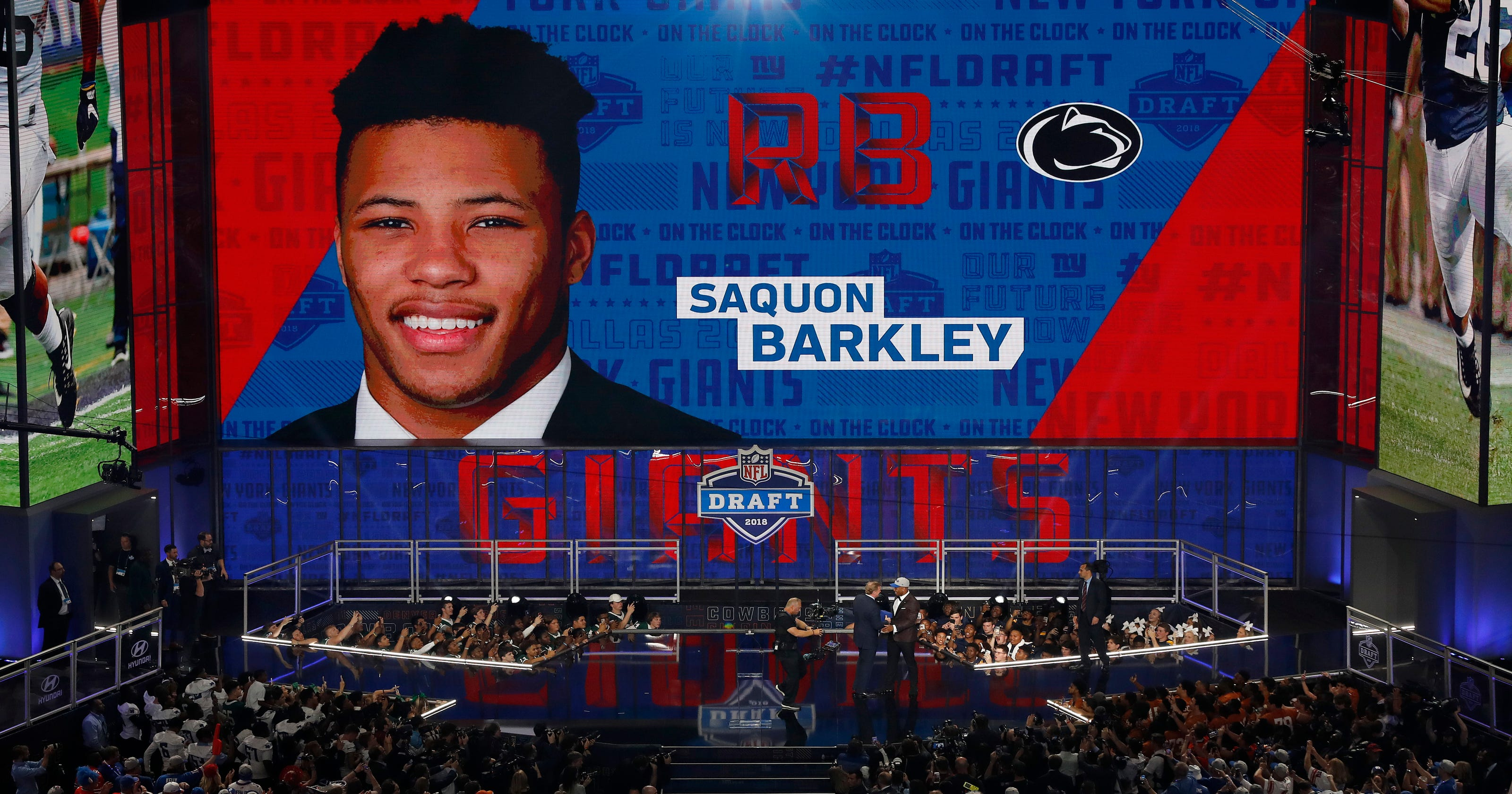 NFL Draft 2018  5 takeaways from the New York Giants selection of Saquon  Barkley 03f942f02