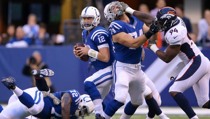Colts on shaky offensive line: 'We're close'