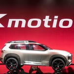 Nissan Xmotion concept hints at looks and features of future SUVs