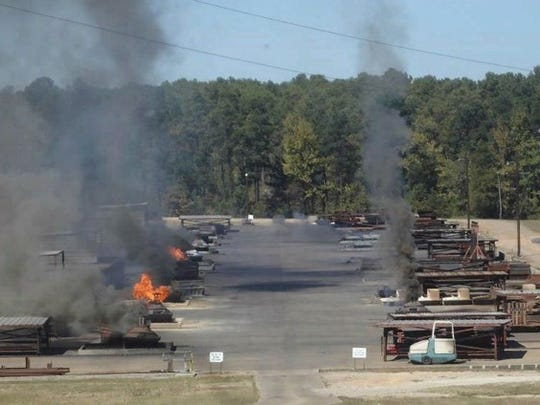 Open burning of hazardous waste is conducted on burn pads at the Clean Harbors Colfax site located about five miles northwest of Colfax. The company wants to roughly quadruple the amount of waste it is allowed to burn, and that has drawn grass-roots opposition.