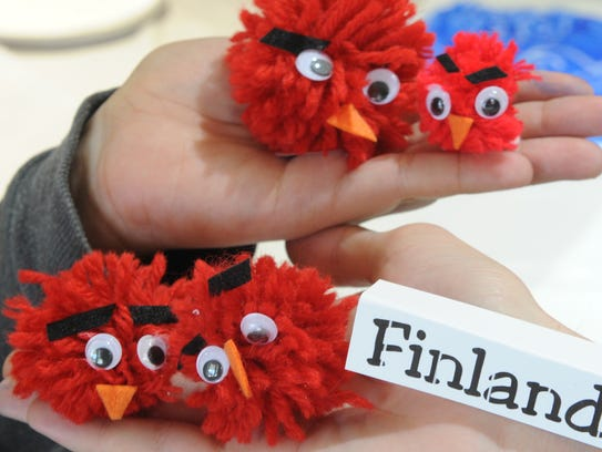 Kids can make their own Angry Birds during the Scandinavian