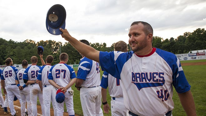 Former Staunton Braves coach George Laase had success has a player this year in the RCBL.
