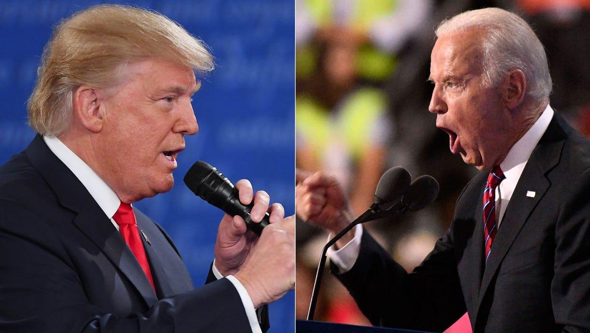 Boxing Experts Pick Winner Of A Donald Trump Joe Biden Fight