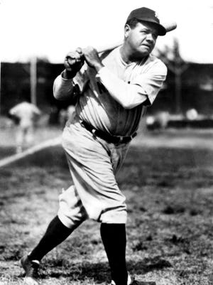 Babe Ruth was purchased by the New York Yankees in 1919 for $100,000.