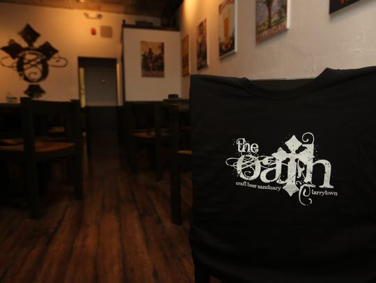 The Oath craft beer bar in Tarrytown.