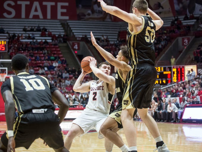 Ball State's took on Western Michigan to end their