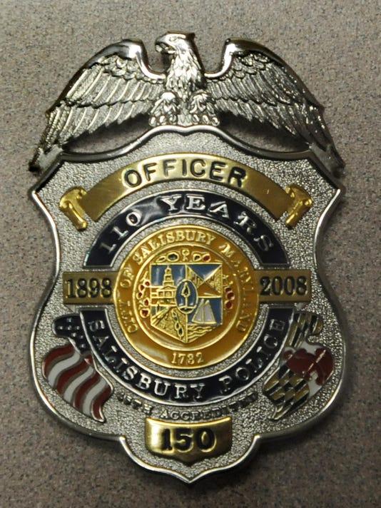 Salisbury police badge